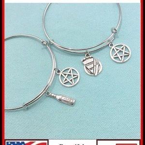 Jewelry - Supernatural : TWO Friendship Dean n Sam Bangles